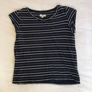 Madewell Retro Striped Baby T-Shirt (Small)